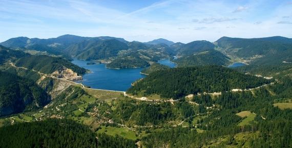 ZAOVINE - jezero očaravajuće lepote